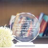 Circular Crystal - Mother's Day