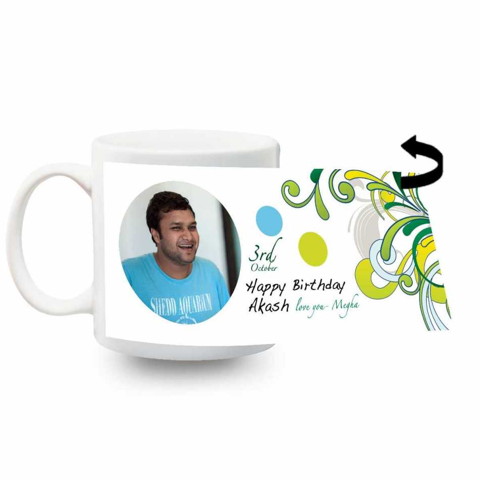 Happy birthday personalized mug gifts for boyfriend for Personalized gifts for boyfriend birthday