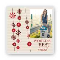 World's Best Friend - Friendship Day Magnet