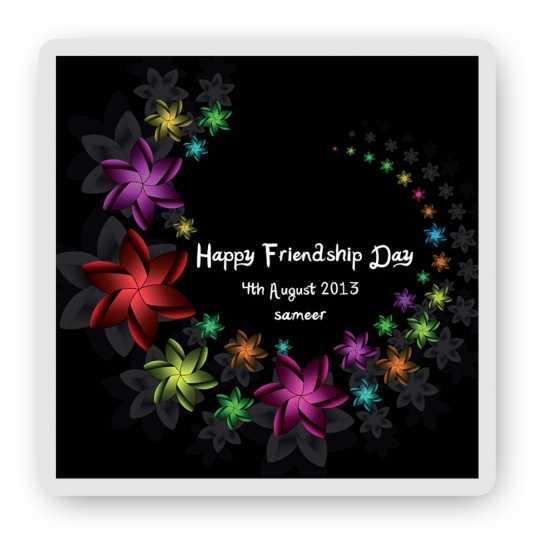 Happy friendship Day - Magnet
