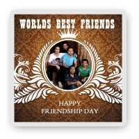 World's Best Friends - Friendship Day Magnet