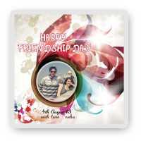 Happy Friendship Day Magnet