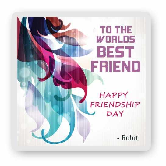 World's Best Friend - Friendship Day Magnet