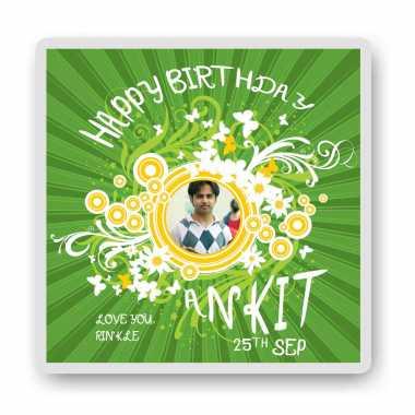 Green Birthday-Magnet