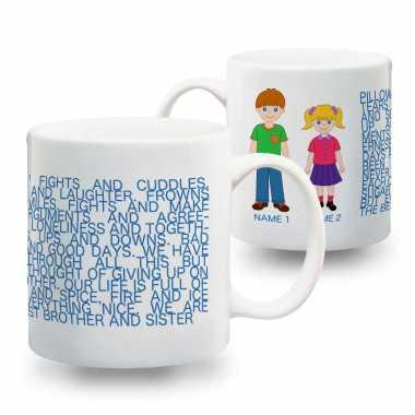 World's Best Brother-Sister - Mug