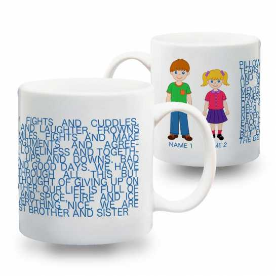 World's Best Brother-Sister - Mug