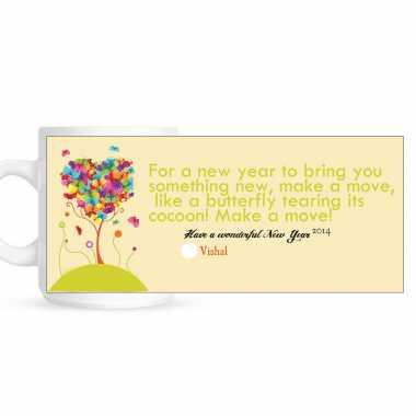 Success - New Year Photo Mug