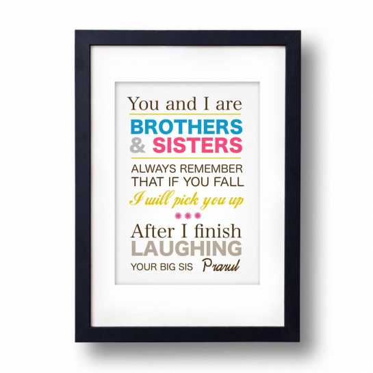 brothers and sisters frame