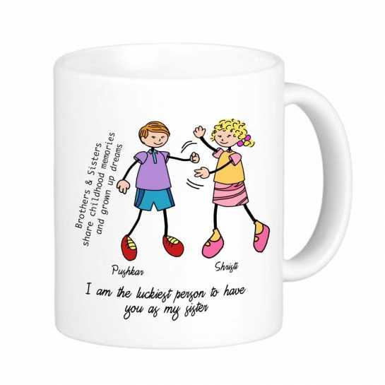 Luckiest Brother - Mug