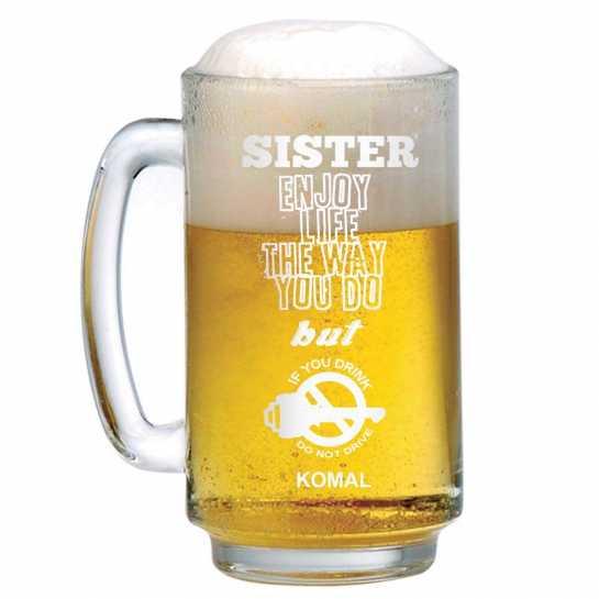 Don't Drink and Drive - Beer Mug