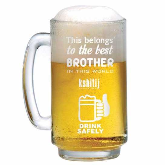 Best Brother - Beer Mug