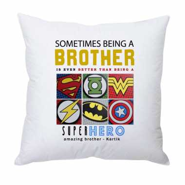 Superhero Brother - Personalized Cushion