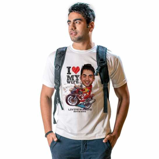 Top 10 Valentine gifts for Husband - Tshirt