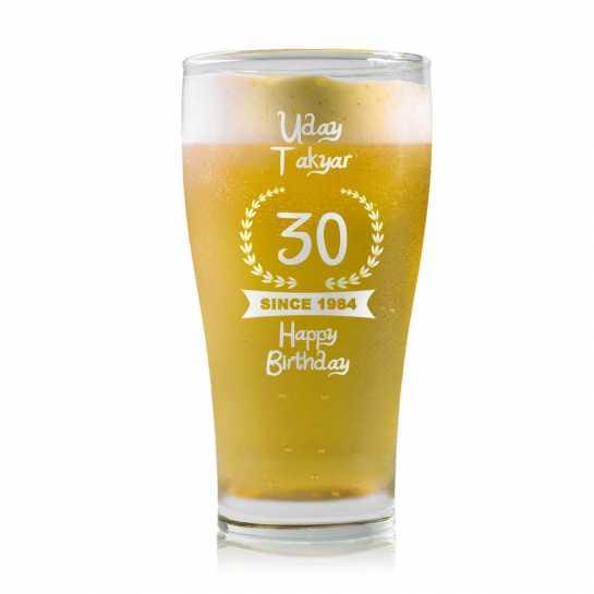 Happy Birthday - Beer Mug