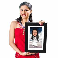 Angel - Caricature Photo Frame