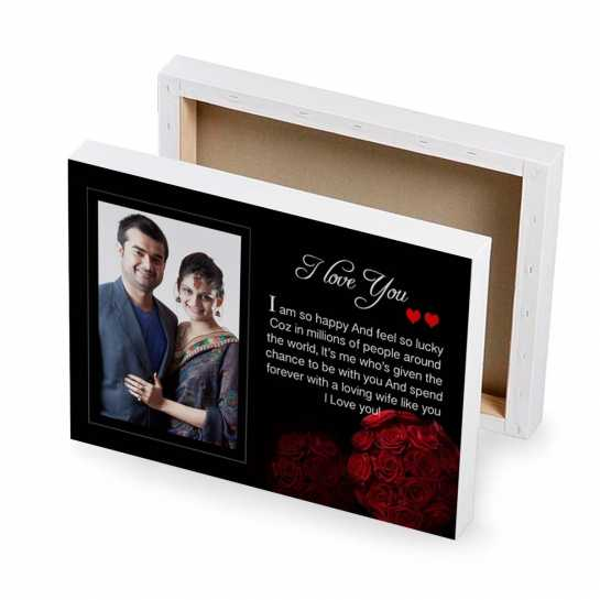 Rose Bunch - Photo Canvas