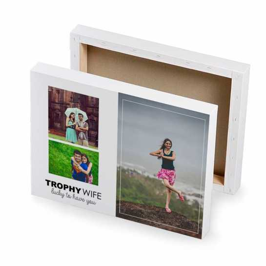Trophy Wife - Photo Canvas
