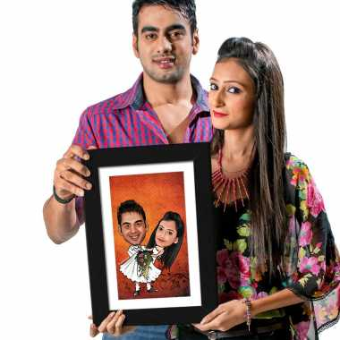 Best Couple - Caricature Photo Frame