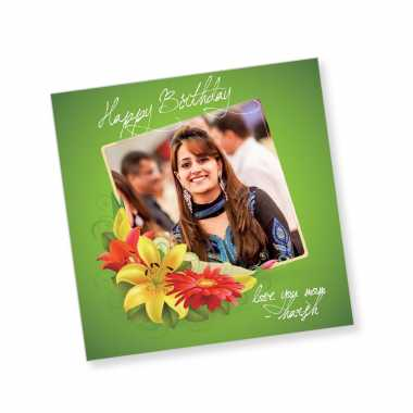 Happy Birthday Magnet - Love You Mom