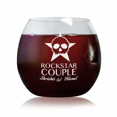 Rockstar Couple - Stylish Wine Glasses