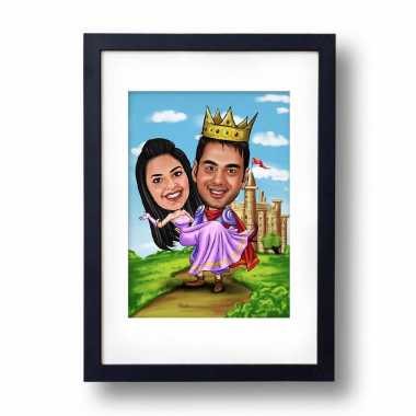 Royal - Caricature Photo Frame