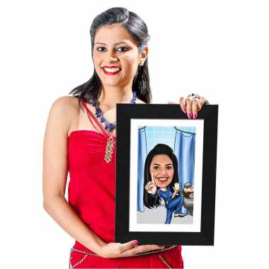 Cool Doctor - Caricature Photo Frame