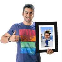 Sailor - Caricature Photo Frame
