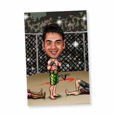 Boxer - Caricature Fridge Magnet