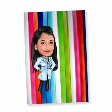 Doctor - Caricature Fridge Magnet