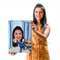 Cool Doctor - Caricature Canvas