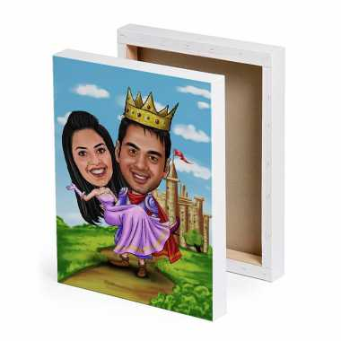 Royal - Caricature Canvas