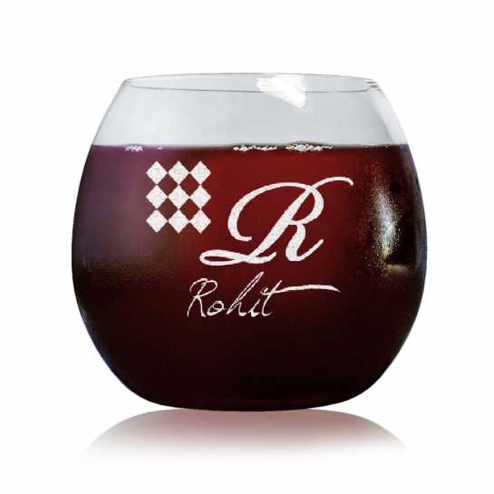 Monogram - Stylish Wine Glasses