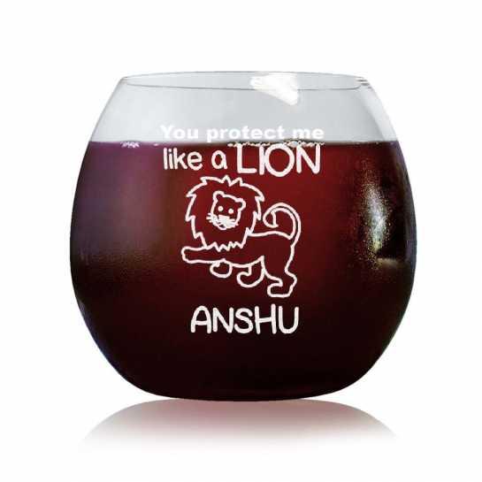My Lion - Stylish Wine Glasses