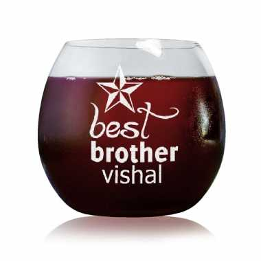 Best Brother - Stylish Wine Glasses