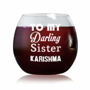 Darling Sister - Stylish Wine Glasses