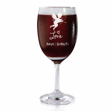 Cupid Love - Wine Glasses