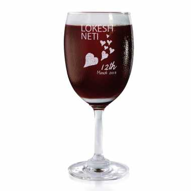 Increasing Love For You - Wine Glasses