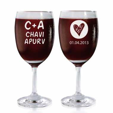 Always Together - Wine Glasses