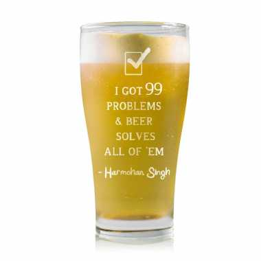 99 Problems - Stylish Beer Mug