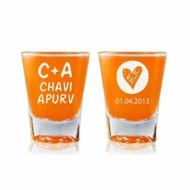 Always Together - Shot Glasses