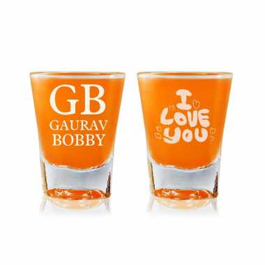Eternal Love Story - Shot Glasses
