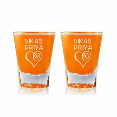 Spiral Love - Shot Glasses