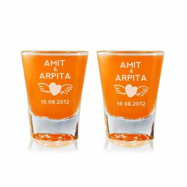 Love Wings - Shot Glasses