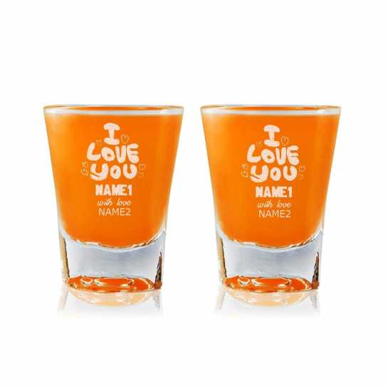 I love You Always - Shot Glasses