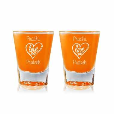 Love You - Shot Glasses