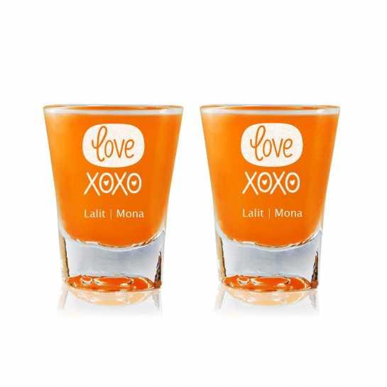 XOXO - Shot Glasses