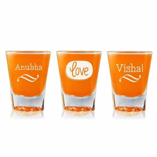 Love - Shot Glasses