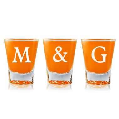 Initials - Shot Glasses