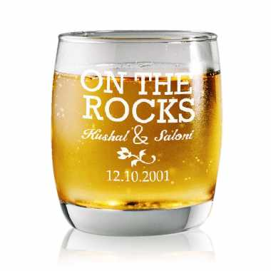 On The Rocks - Rock Glasses