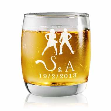 Dance With Whisky - Rock Glasses